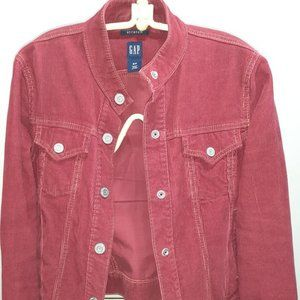 Vintage Gap Jacket, Red Corduroy, US Size Small